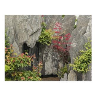 Jardín de la familia de Bao, Huangshan, China Tarjeta Postal