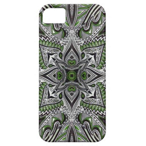 jardín de la fruta cítrica del caso del iphone 5 iPhone 5 Case-Mate protectores