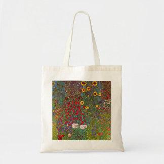 Jardín de la granja de Gustavo Klimt con la bolsa