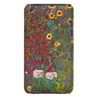 Jardín de la granja de Gustavo Klimt con la caja d Case-Mate iPod Touch Protectores