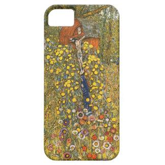 Jardín de la granja de Klimt con el caso del Funda Para iPhone SE/5/5s
