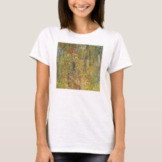 Jardín de la granja de Klimt con la camiseta del