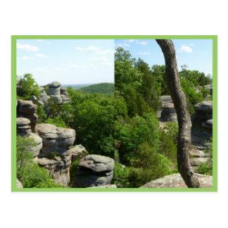 Jardín de la Illinois Dios-Meridional. Tarjetas Postales