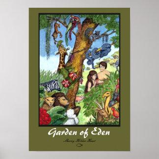 Jardín de la impresión de Eden Impresiones