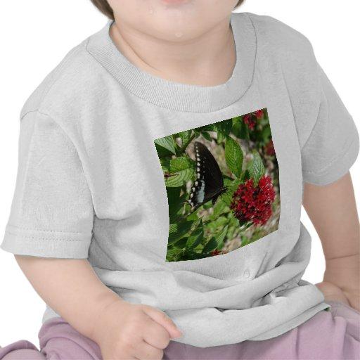 Jardín de la mariposa camisetas