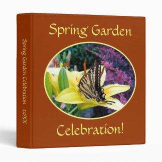 Jardín de la mariposa de Swallowtail carpeta de 1