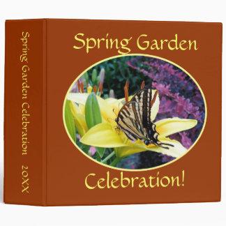 Jardín de la mariposa de Swallowtail carpeta de 2