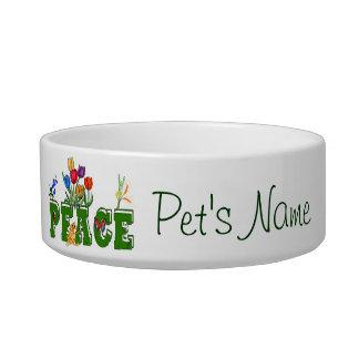 Jardín de la paz comedero para mascota