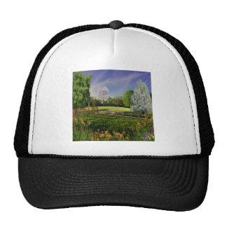 Jardín de la primavera gorras