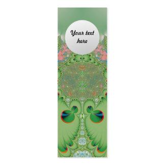 Jardín de la primavera tarjetas de visita mini