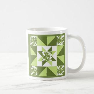 Jardín de la primavera taza de café
