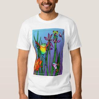 Jardín de la rana arbórea poleras