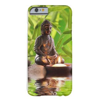 jardín de la serenidad del zen de Buda Funda De iPhone 6 Barely There