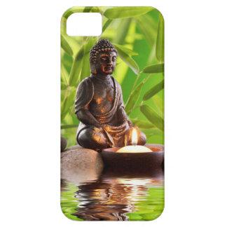 jardín de la serenidad del zen de Buda iPhone 5 Fundas