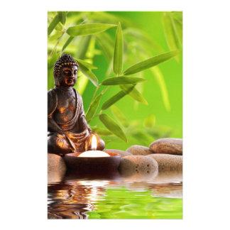 jardín de la serenidad del zen de Buda Papeleria