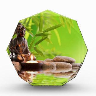 jardín de la serenidad del zen de Buda