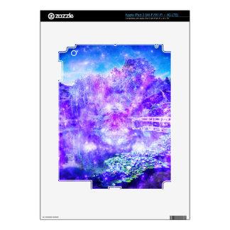 Jardín de la serenidad iPad 3 pegatinas skins