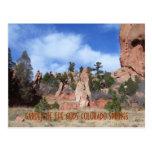 JARDÍN de la tarjeta del Primavera-Poste de GODS-C Tarjetas Postales