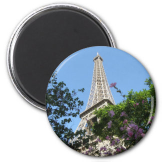 Jardín de la torre Eiffel Imán Redondo 5 Cm