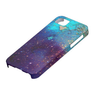 JARDÍN de las SOMBRAS PERDIDAS - Turquase azul iPhone 5 Cárcasas