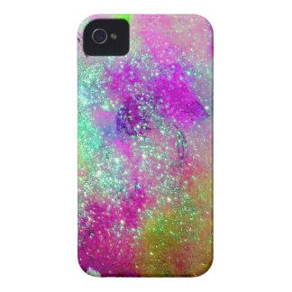 JARDÍN DE LAS SOMBRAS PERDIDAS - violeta púrpura r Case-Mate iPhone 4 Cobertura