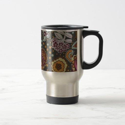 JARDÍN de los años 60 Taza De Café