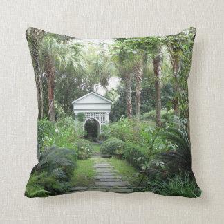 Jardín de los Palmettos del SC de Charleston y Cojín