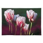 Jardín de los tulipanes mantel
