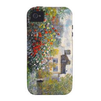 Jardín de Monet en Argenteuil Vibe iPhone 4 Carcasas