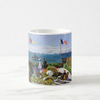 Jardín de Monet en la taza de Sainte Adresse