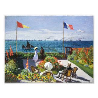 Jardín de Monet en Sainte Adresse Fotografías