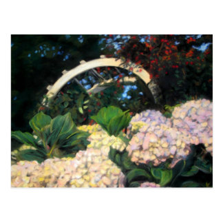 Jardín de Ned Grandin Tarjeta Postal