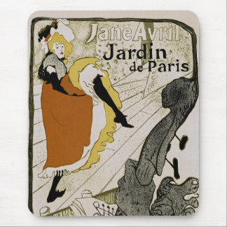 Jardin de Paris Mouse Pad