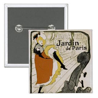 Jardin de París Pin Cuadrado