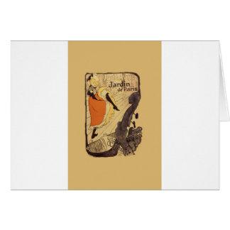 Jardin de Paris - Toulouse-Lautrec Card