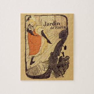 Jardin de Paris - Toulouse-Lautrec Jigsaw Puzzle