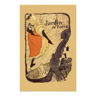 Jardin de Paris - Toulouse-Lautrec Stationery