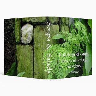 Jardín de piedra - carpeta de la receta