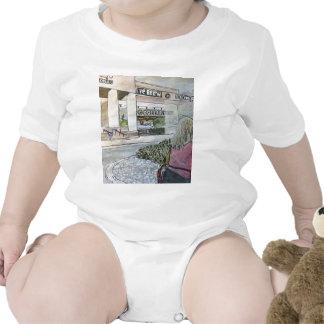 Jardín de piedras Cuasi-Oriental Trajes De Bebé