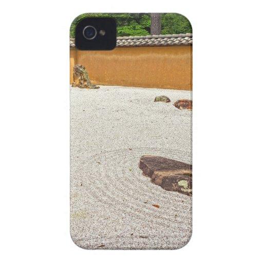 Jardín de piedras japonés Case-Mate iPhone 4 funda