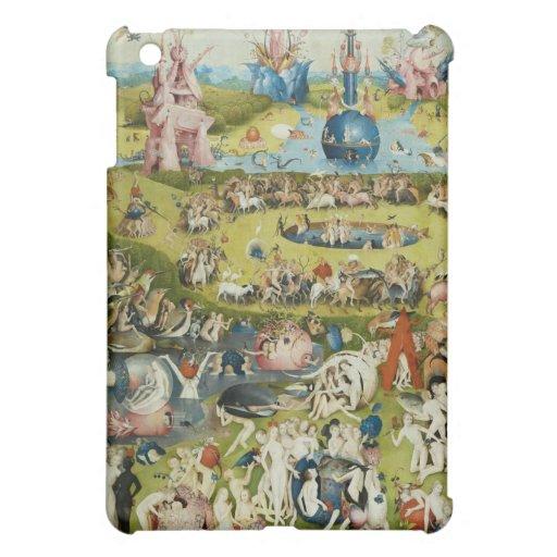 Jardín de placeres terrestres por Bosch iPad Mini Coberturas