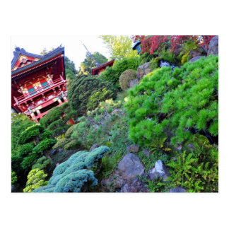 Jardín de té japonés de San Francisco de la postal