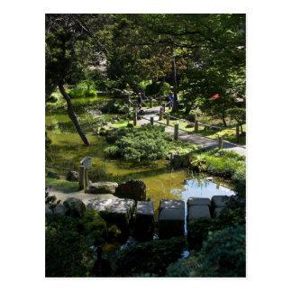 Jardín de té japonés en Golden Gate Park Tarjetas Postales
