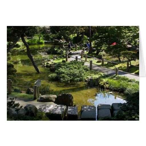 Jardín de té japonés en Golden Gate Park Tarjetas