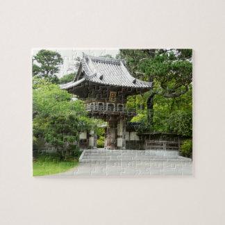 Jardín de té japonés en la fotografía de San Rompecabezas Con Fotos