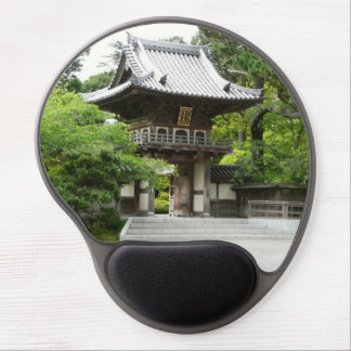 Jardín de té japonés en San Francisco Alfombrilla Con Gel