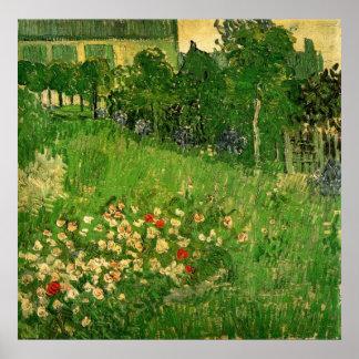 Jardín de Van Gogh Daubigny, bella arte del