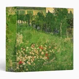 """Jardín de Van Gogh Daubigny, bella arte del Carpeta 1 1/2"""""""