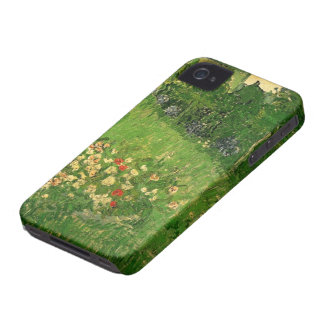 Jardín de Van Gogh Daubigny, bella arte del Funda Para iPhone 4 De Case-Mate