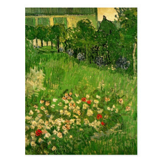 Jardín de Van Gogh Daubigny, bella arte del Tarjeta Postal